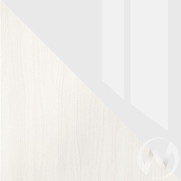 Валирия Кровать КР 032 (анкор/белый глянец)  в Томске — интернет магазин МИРА-мебель