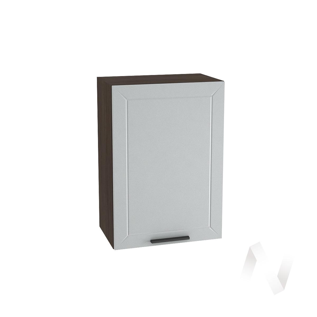"""Кухня """"Глетчер"""": Шкаф верхний 500, ШВ 500 (Гейнсборо Силк/корпус венге)"""