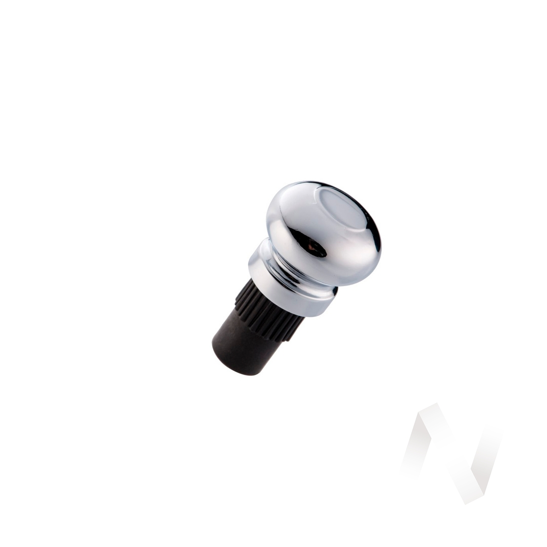 Заглушка для держателя рейлинга ретро хром  в Томске — интернет магазин МИРА-мебель