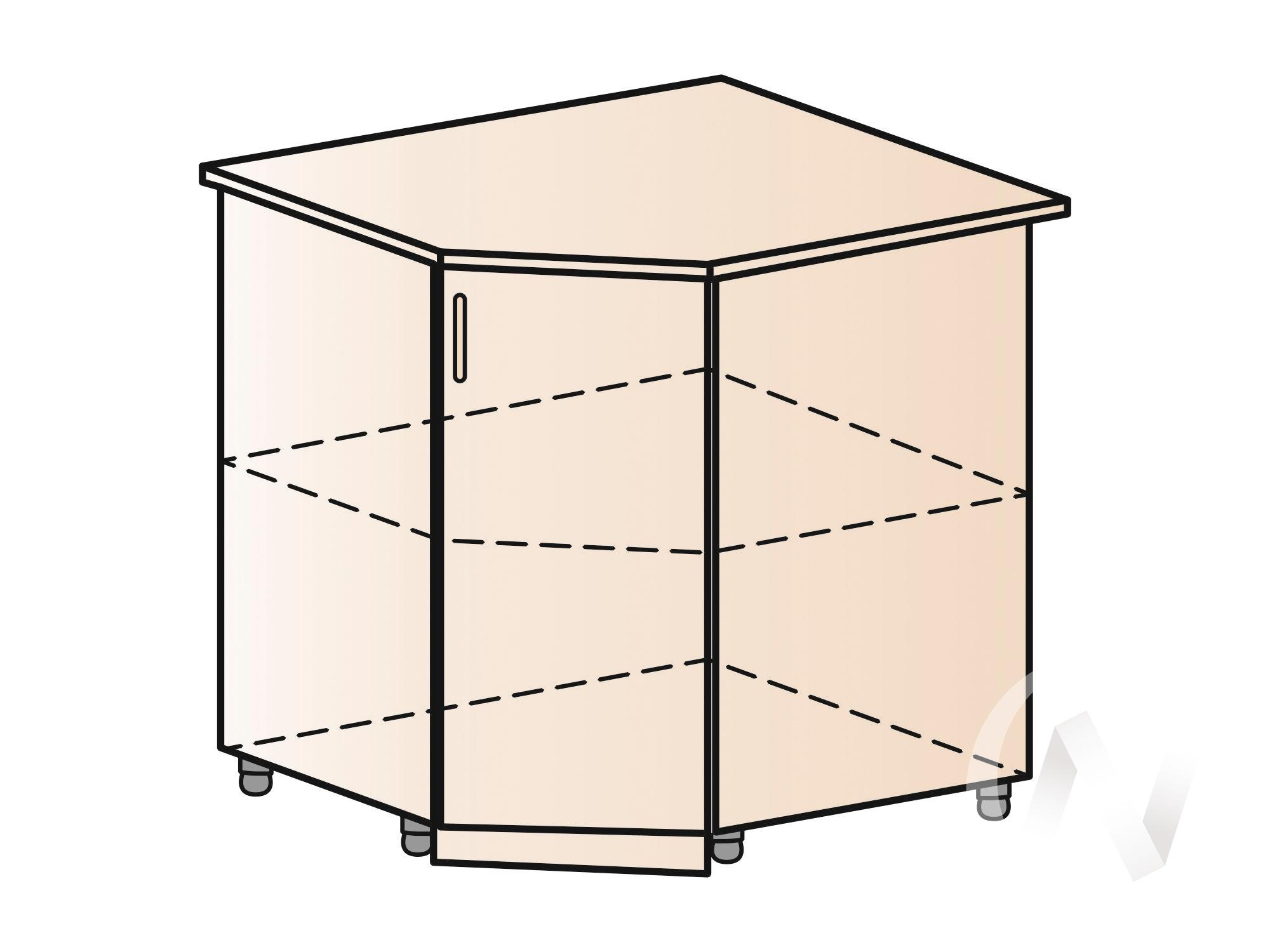 """Кухня """"Вена"""": Шкаф нижний угловой 890, ШНУ 890 (корпус белый) в Новосибирске в интернет-магазине мебели kuhnya54.ru"""