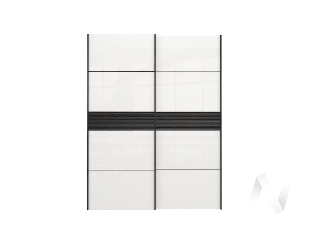 Комплект фасадов 2032 СТЛ.299.83 Марвин-3 (Белый глянец/Дуб феррара/Дуб феррара глянец)