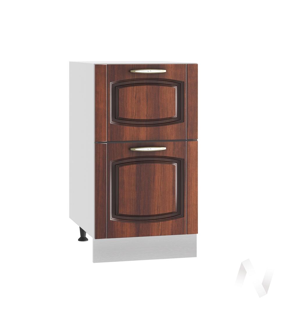 """Кухня """"Неаполь"""": Шкаф нижний с 2-мя ящиками 400, ШН2Я 400 (Италия/корпус белый)"""
