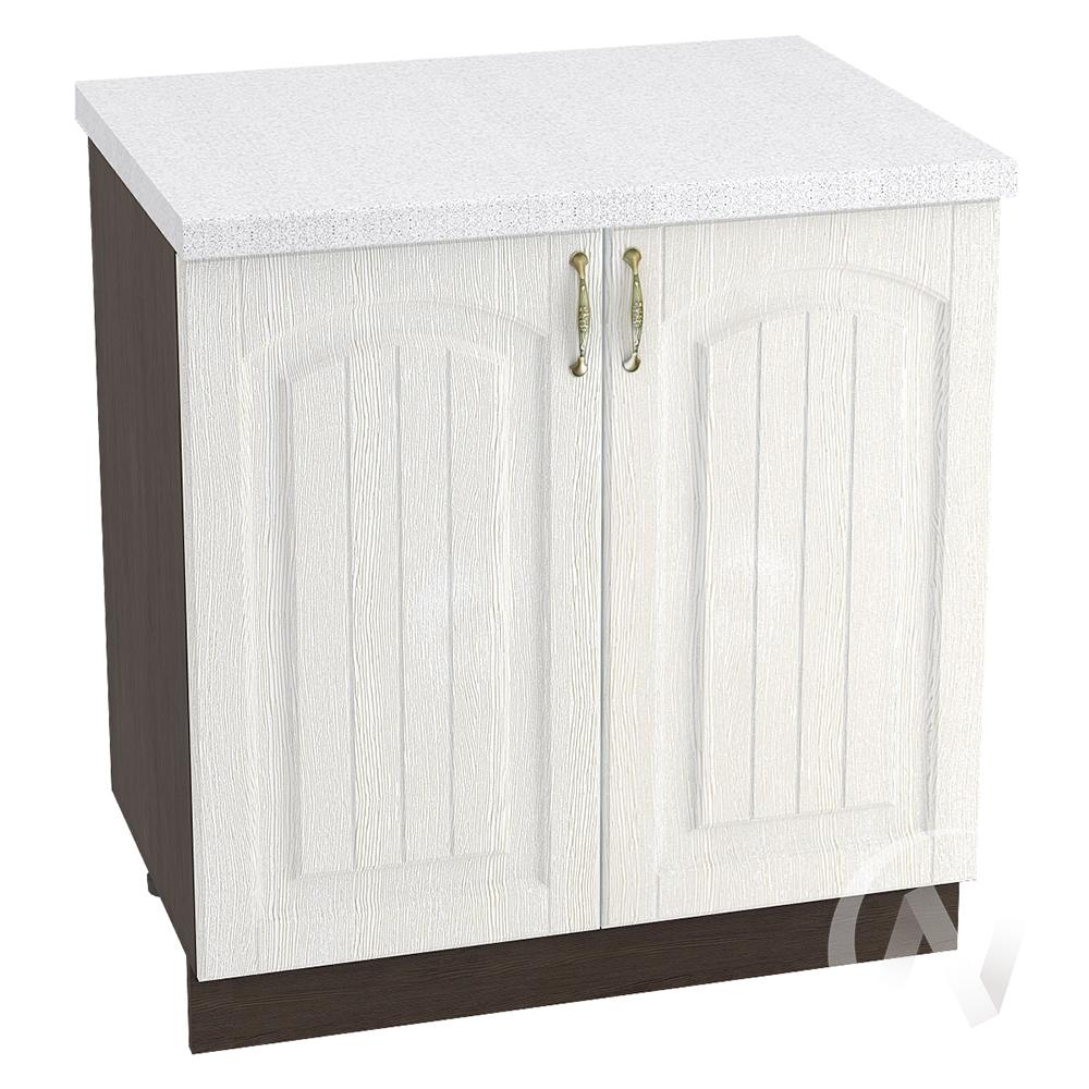 """Кухня """"Верона"""": Шкаф нижний 800, ШН 800 (ясень золотистый/корпус венге)"""