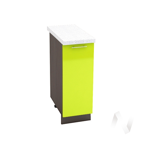 "Кухня ""Валерия-М"": Шкаф нижний 300, ШН 300 (лайм глянец/корпус венге)"