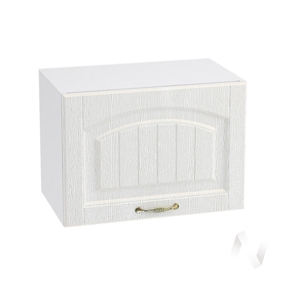 """Кухня """"Верона"""": Шкаф верхний горизонтальный 500, ШВГ 500 (ясень золотистый/корпус белый)"""