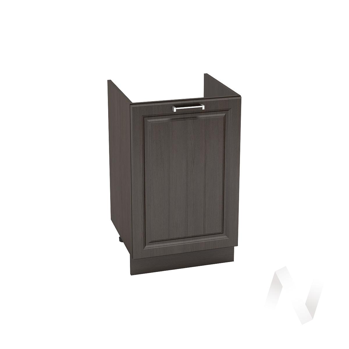 "Кухня ""Прага"": Шкаф нижний под мойку 500, ШНМ 500 (венге/корпус венге)"