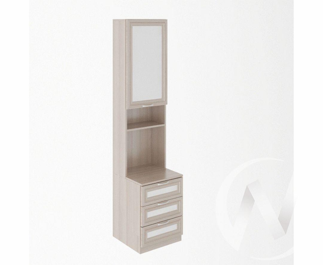 Стеллаж для принтера М10 Остин (ясень шимо светлый/белый)