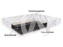 Матрасы с зависимым пружинным блоком