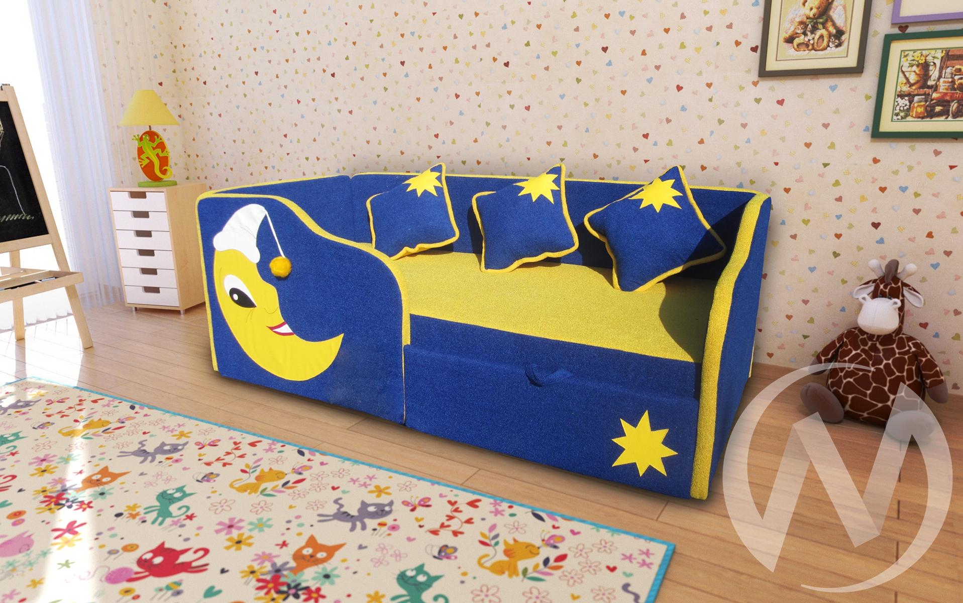 Спейс диван детский левый  в Томске — интернет магазин МИРА-мебель