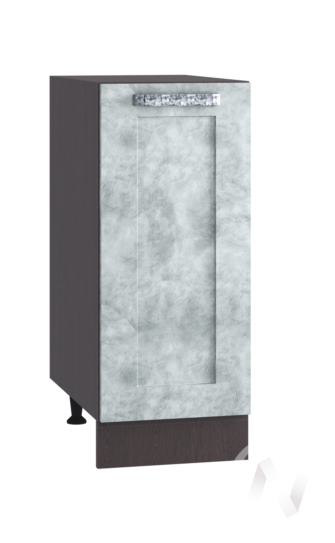 "Кухня ""Лофт"": Шкаф нижний 300, ШН 300 (Бетон серый/корпус венге)"