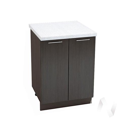 "Кухня ""Валерия-М"": Шкаф нижний 600, ШН 600 (венге/корпус венге)"