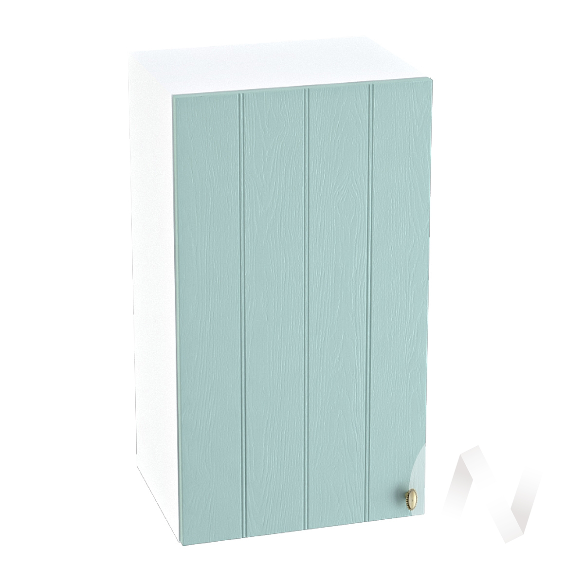 "Кухня ""Прованс"": Шкаф верхний 400, ШВ 400 (голубой/корпус белый)"