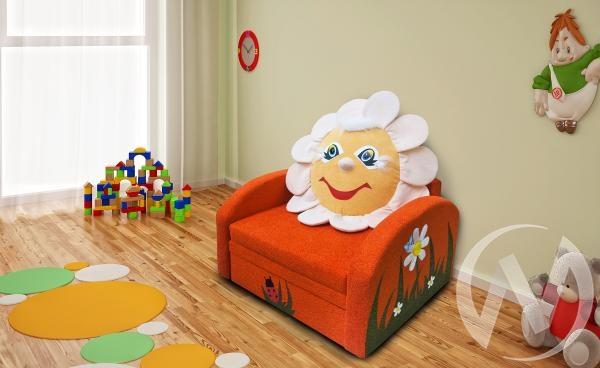 Ромашка диван детский