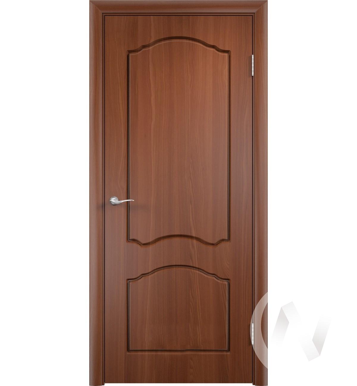 Дверь ПВХ Тип Азалия, 60, глухая, итальянский орех