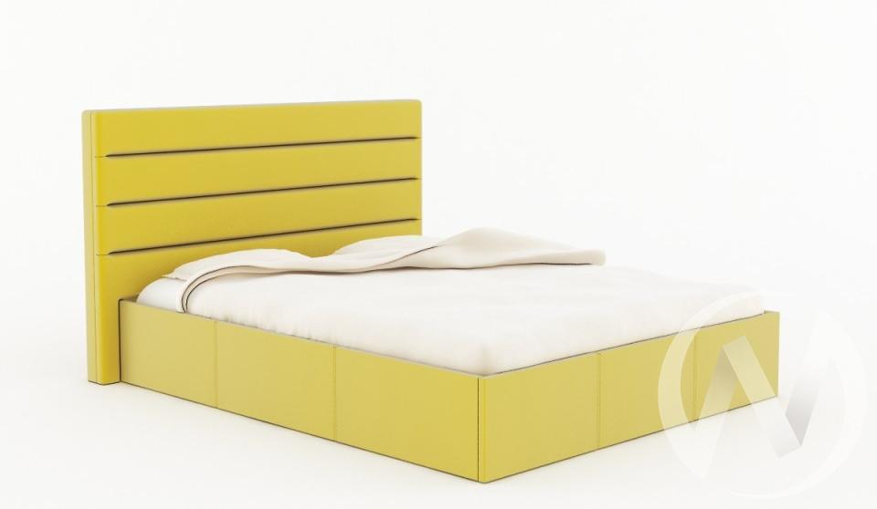 Кровать Севилья 1,6 с подъемным механизмом (желтая)  в Томске — интернет магазин МИРА-мебель