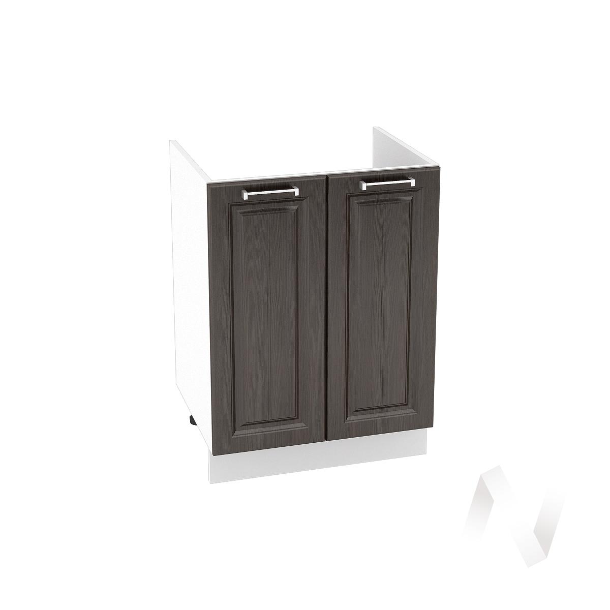 "Кухня ""Прага"": Шкаф нижний под мойку 600, ШНМ 600 (венге/корпус белый)"