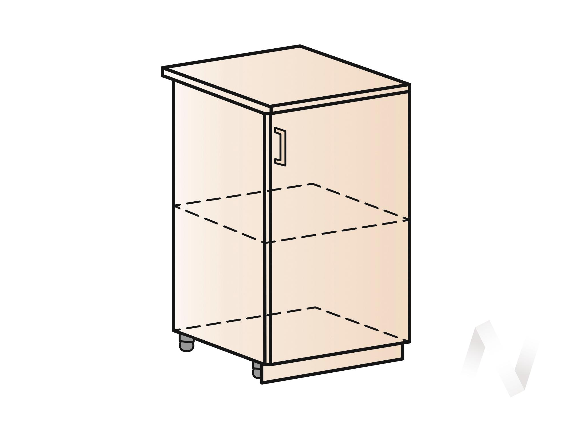 """Кухня """"Вена"""": Шкаф нижний 500, ШН 500 (корпус венге) в Новосибирске в интернет-магазине мебели kuhnya54.ru"""
