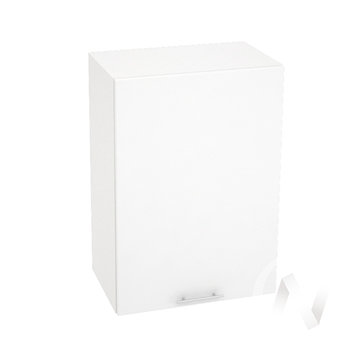 "Кухня ""Валерия-М"": Шкаф верхний 500, ШВ 500 (белый металлик/корпус белый)"