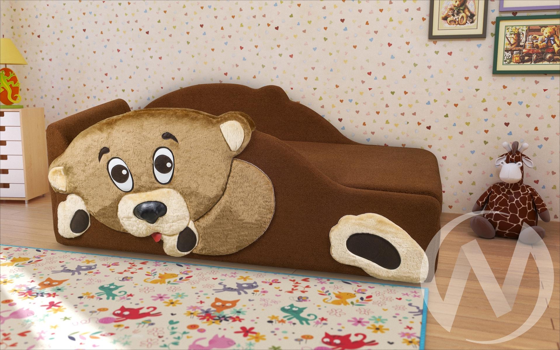 Винни кровать детская левая