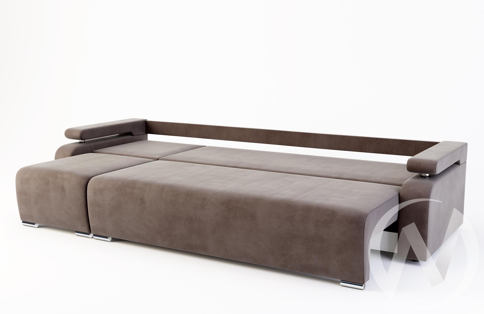 Диван-трансформер Невада 3кат (Burn brown/Ice brown/Ice brown)  в Томске — интернет магазин МИРА-мебель