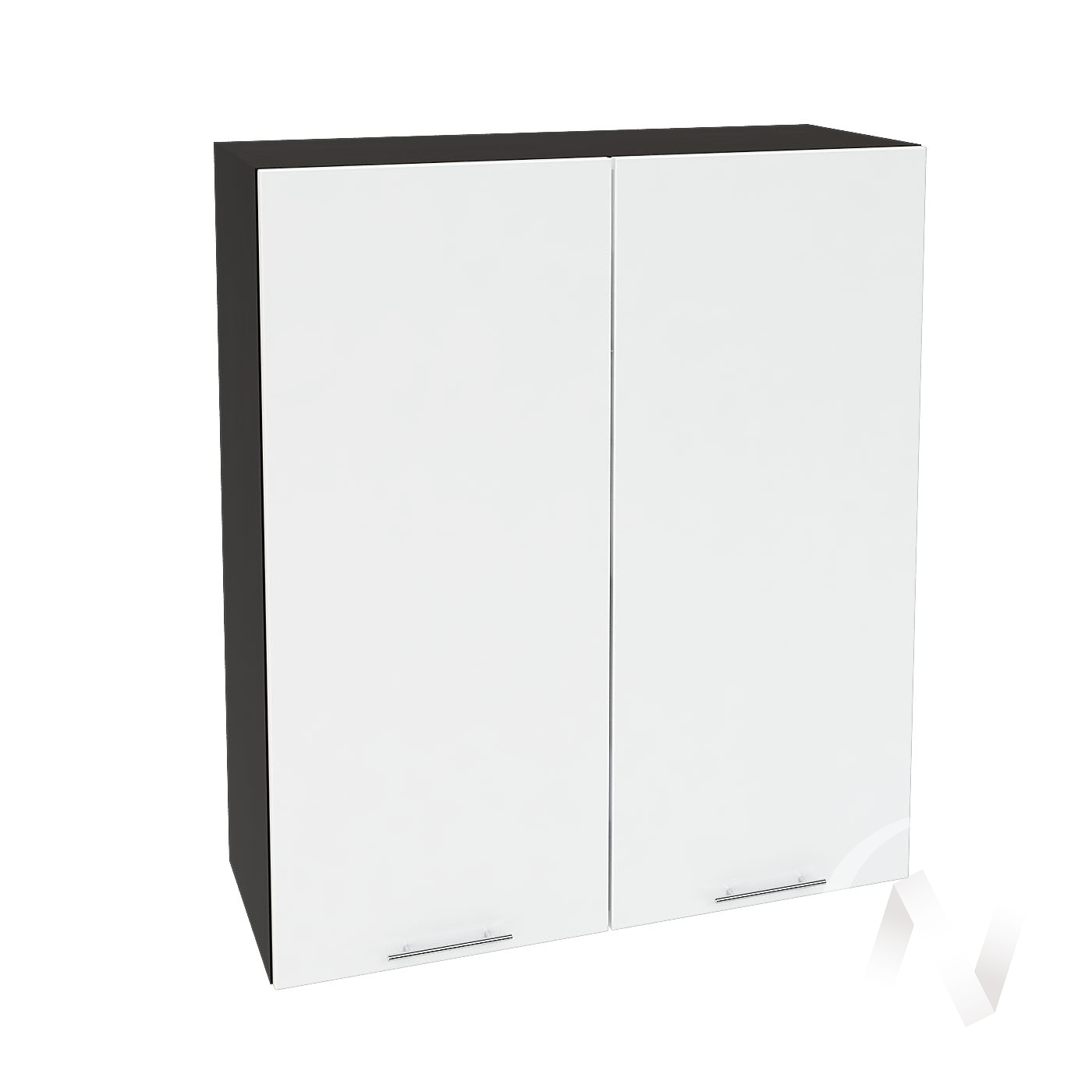"""Кухня """"Валерия-М"""": Шкаф верхний 809, ШВ 809 (белый глянец/корпус венге)"""