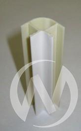 Угол 90* внутренний 100 мм (белый)