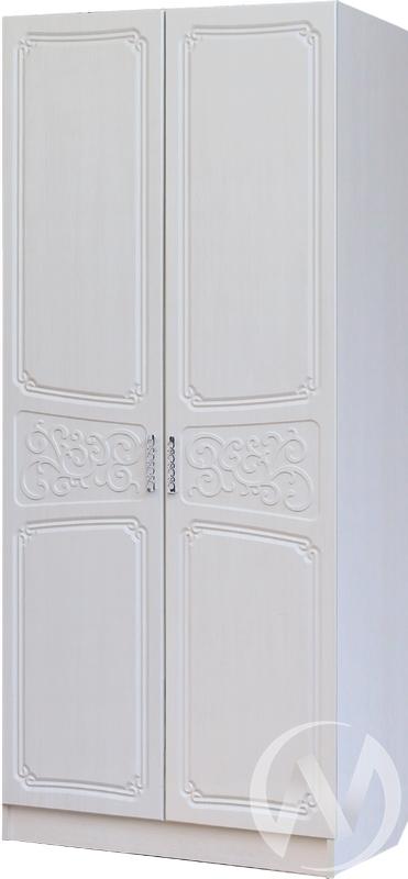 Спальня Тиффани Шкаф 2х створчатый 0,8 (бодега/рельеф пастель)