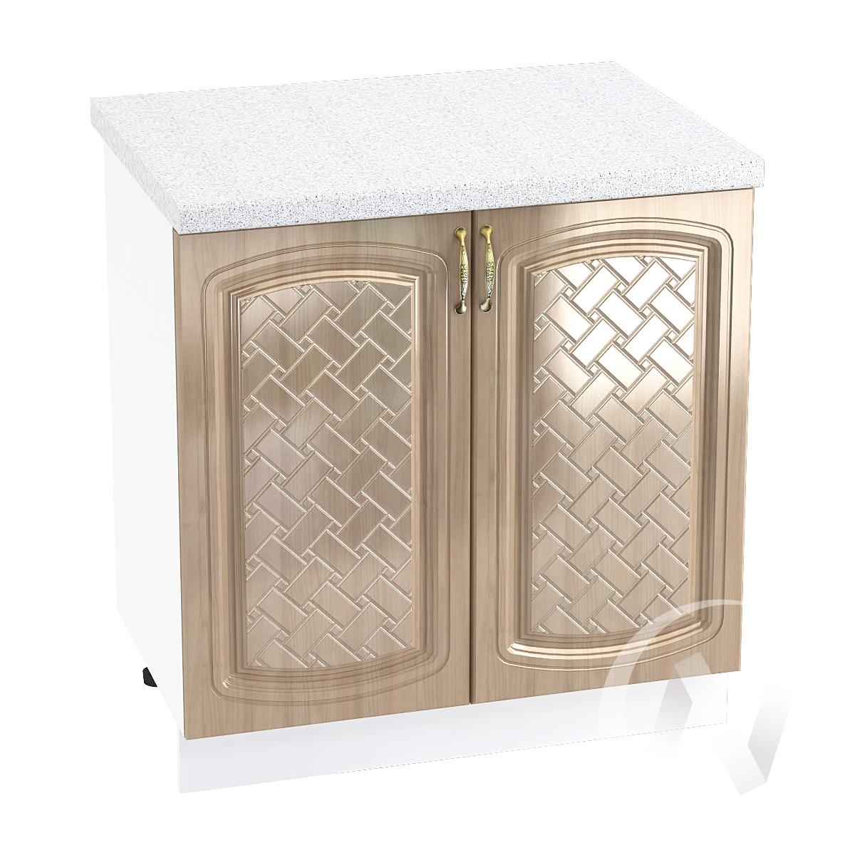 "Кухня ""Сити"": Шкаф нижний 800, ШН 800 (корпус белый)"
