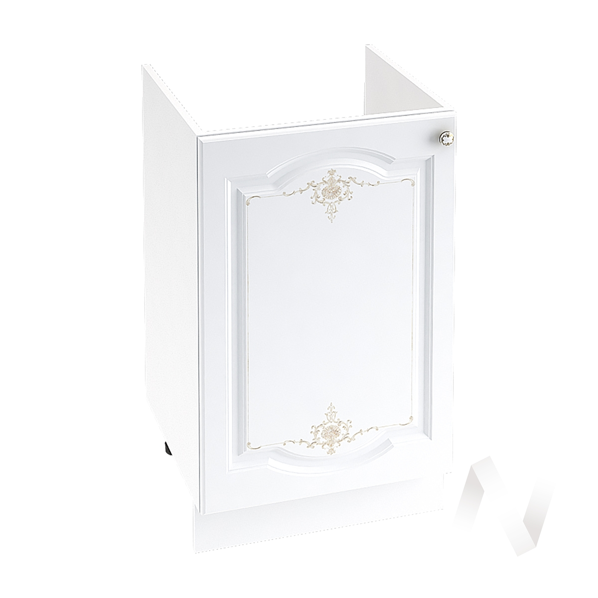 "Кухня ""Шарлиз"": Шкаф нижний под мойку 500, ШНМ 500 (корпус белый)"