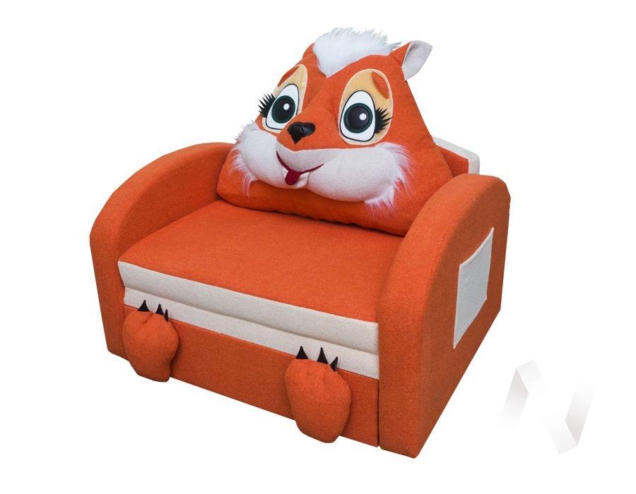 Лисичка диван детский  в Томске — интернет магазин МИРА-мебель