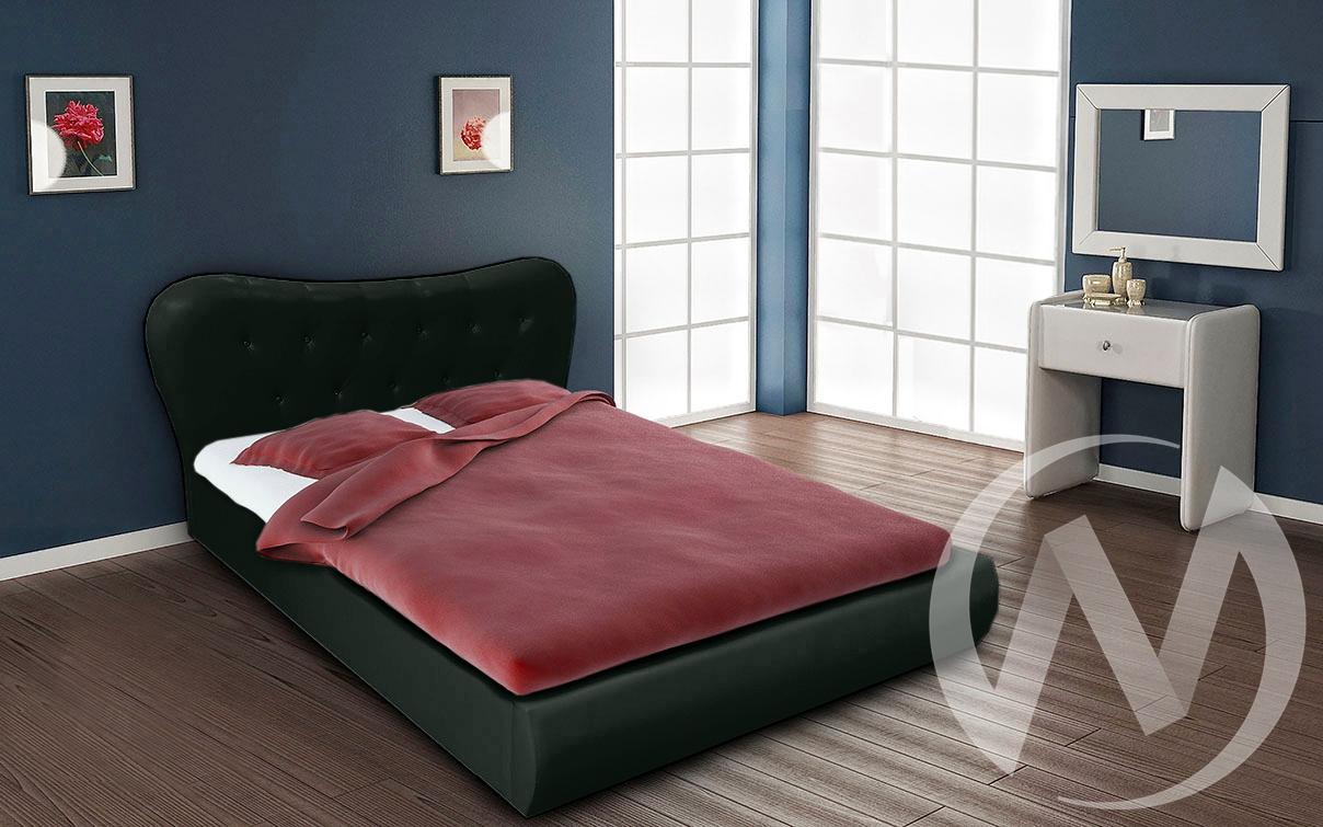 Кровать Лавита 1,6 (черный)  в Томске — интернет магазин МИРА-мебель