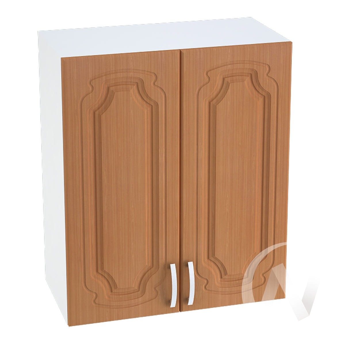 """Кухня """"Настя"""": Шкаф верхний 700, ШВ 700 (Орех миланский/корпус белый)"""