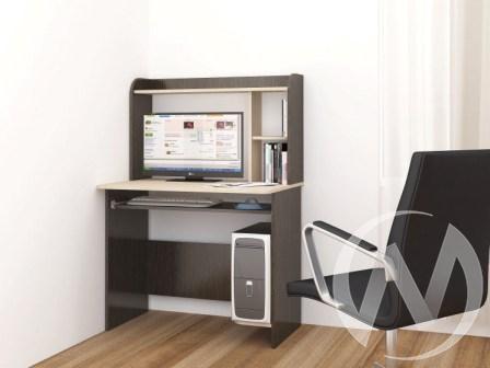 Стол компьютерный Грета-2 (венге/дуб молочный)