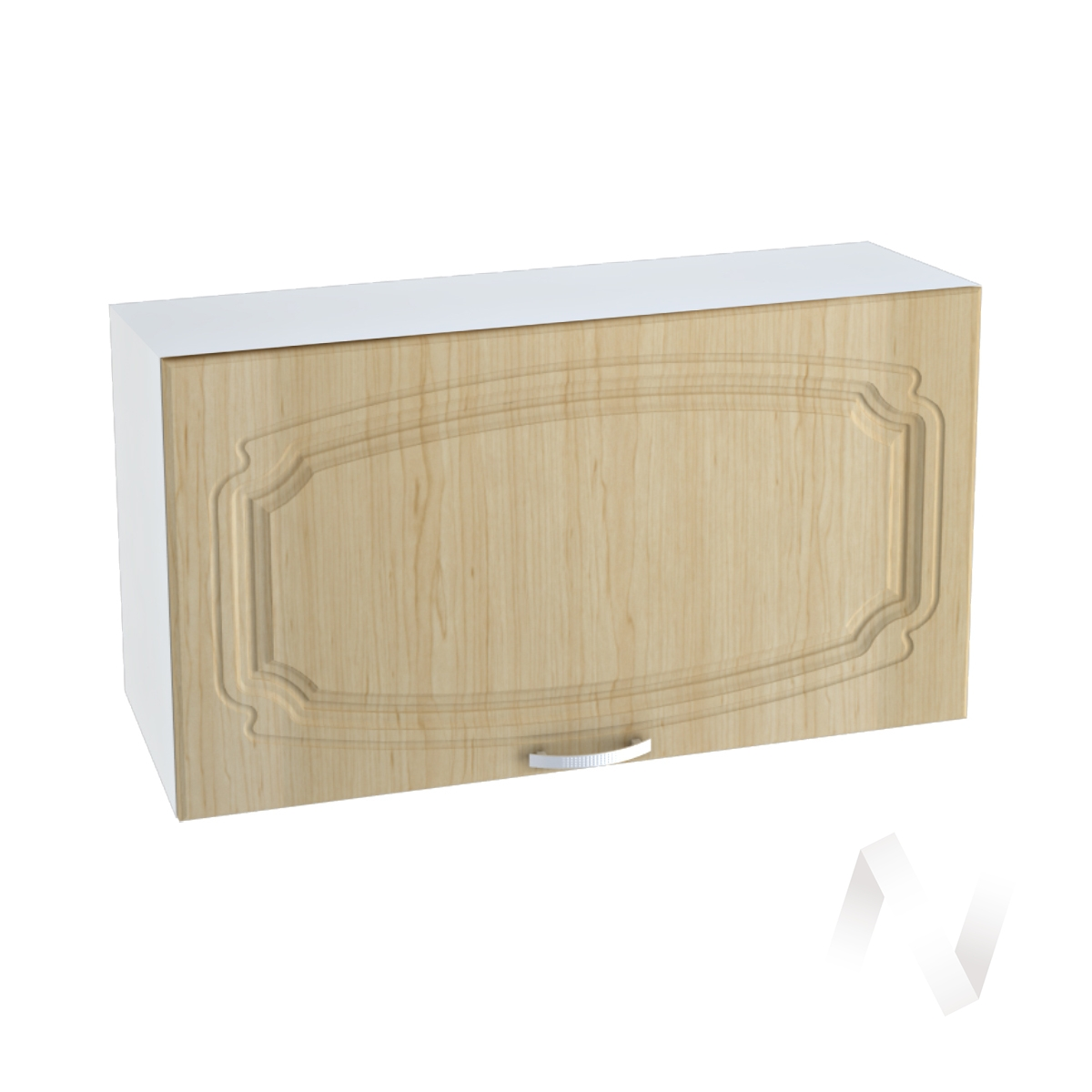 """Кухня """"Настя"""": Шкаф верхний горизонтальный 809, ШВГ 809 (Береза/корпус белый)"""