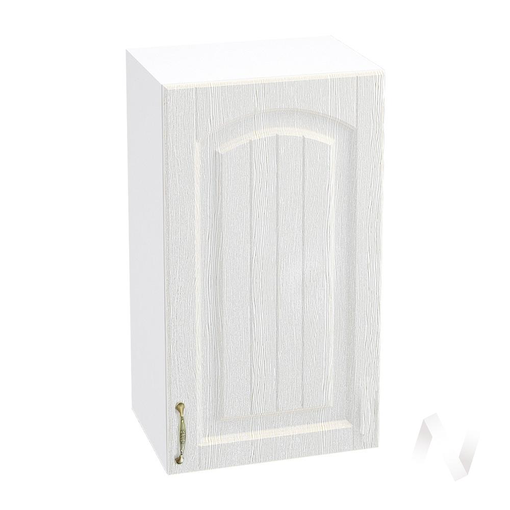 """Кухня """"Верона"""": Шкаф верхний 400 правый, ШВ 400 (ясень золотистый/корпус белый)"""