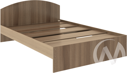 Кровать Веста 1,4х2,0 (шимо темный)  в Томске — интернет магазин МИРА-мебель