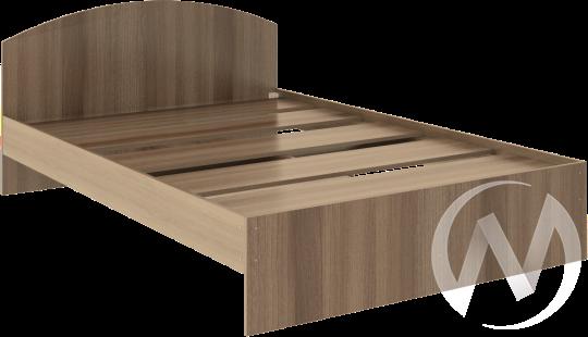 Кровать Веста 1,4х2,0 (шимо темный)