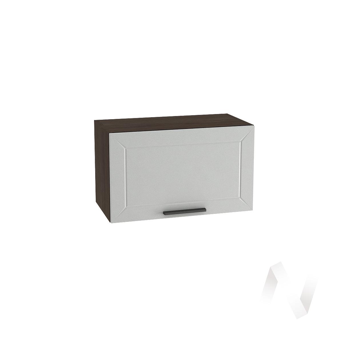 """Кухня """"Глетчер"""": Шкаф верхний горизонтальный 600, ШВГ 600 (Гейнсборо Силк/корпус венге)"""