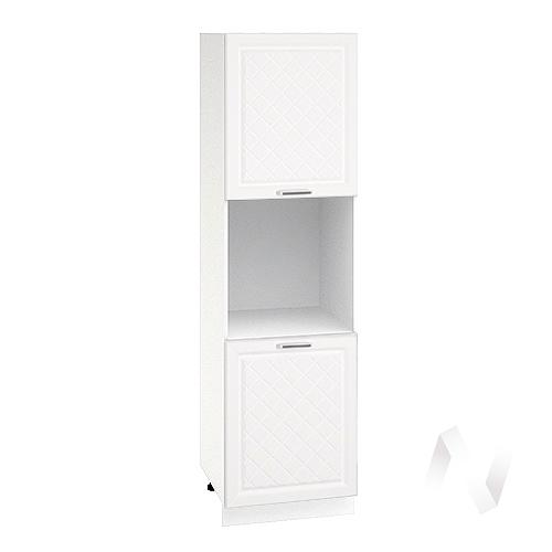 """Кухня """"Вена"""": Шкаф пенал 600, ШП 600 (корпус белый)"""