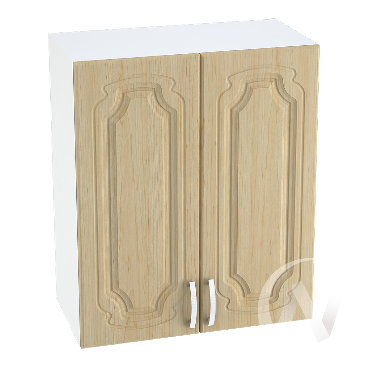 "Кухня ""Настя"": Шкаф верхний 700, ШВ 700 (Береза/корпус белый)"