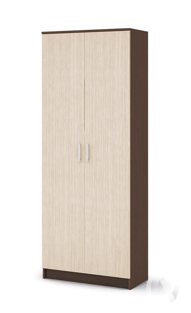 Шкаф с перегородкой ШК 204 Прихожая Машенька (шимо темный/шимо светлый)  в Томске — интернет магазин МИРА-мебель