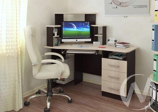 Стол компьютерный Каспер (венге/лоредо)
