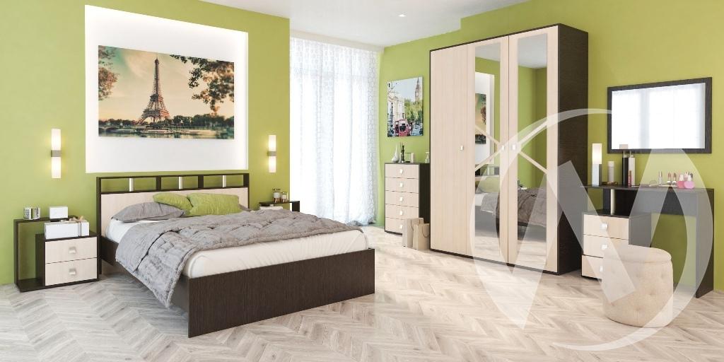 """Спальня """"Нэнси-2""""  в Томске — интернет магазин МИРА-мебель"""