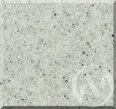 Мойка круглая из искусственного камня U-107 (салатовый 303)  в Томске — интернет магазин МИРА-мебель