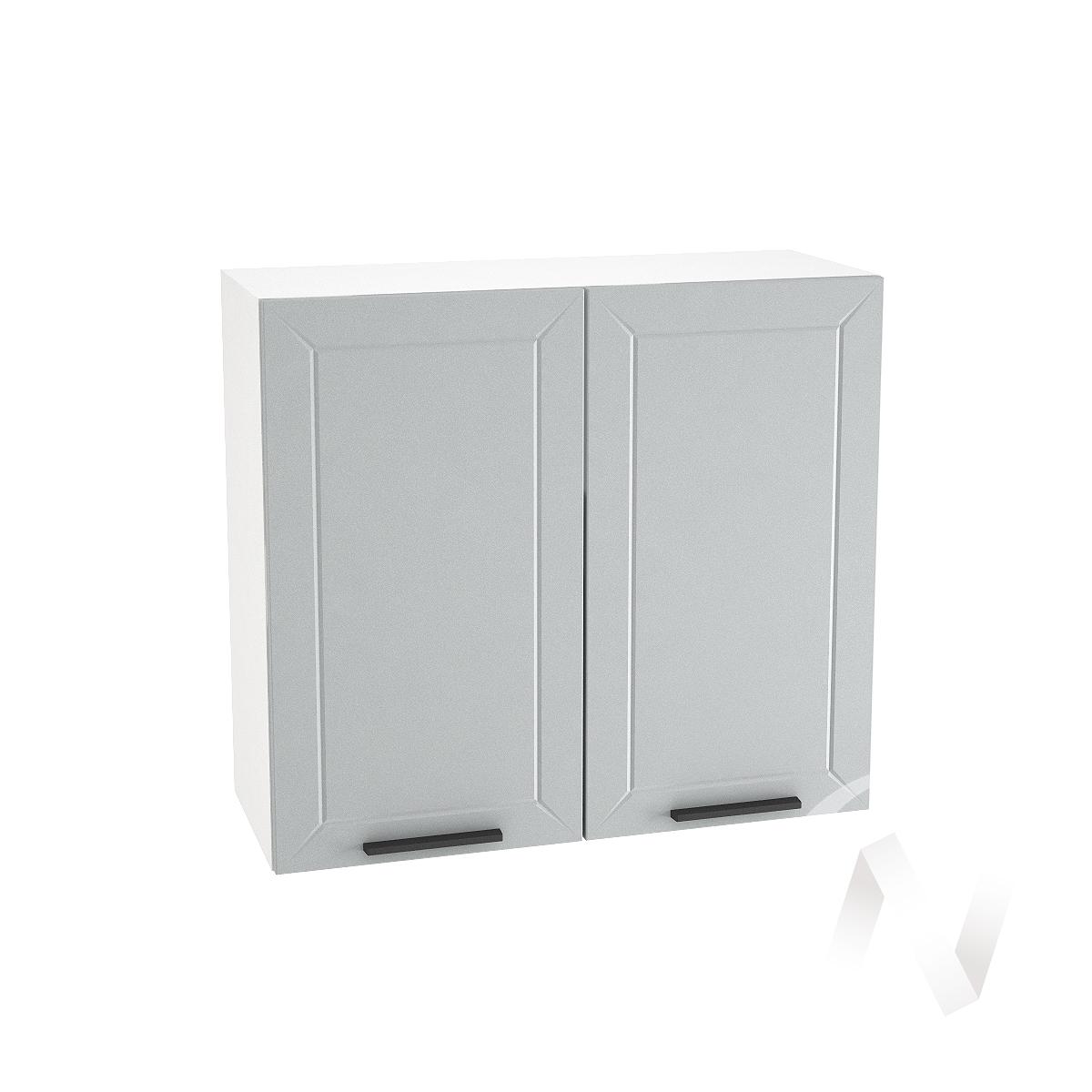 """Кухня """"Глетчер"""": Шкаф верхний 800, ШВ 800 (Гейнсборо Силк/корпус белый)"""