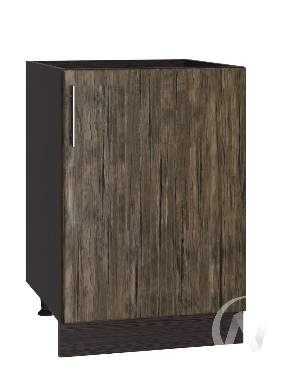 "Кухня ""Норден"": Шкаф нижний под мойку 500, ШНМ 500 (старое дерево/корпус венге)"