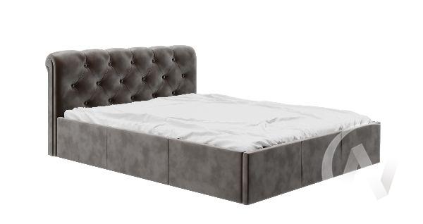 Кровать Калипсо 1,6 (вельвет кофе)