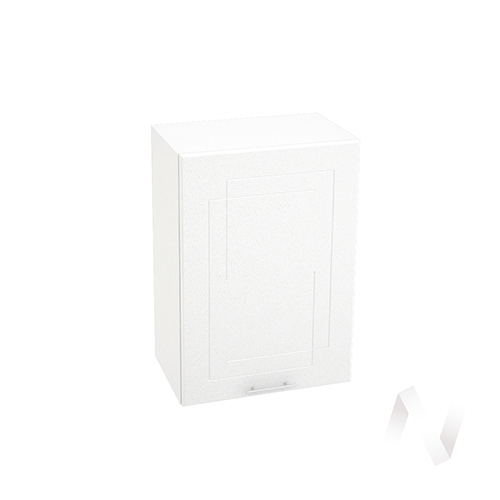 "Кухня ""Вега"": Шкаф верхний 500, ШВ 500 (белый металлик/корпус белый)"