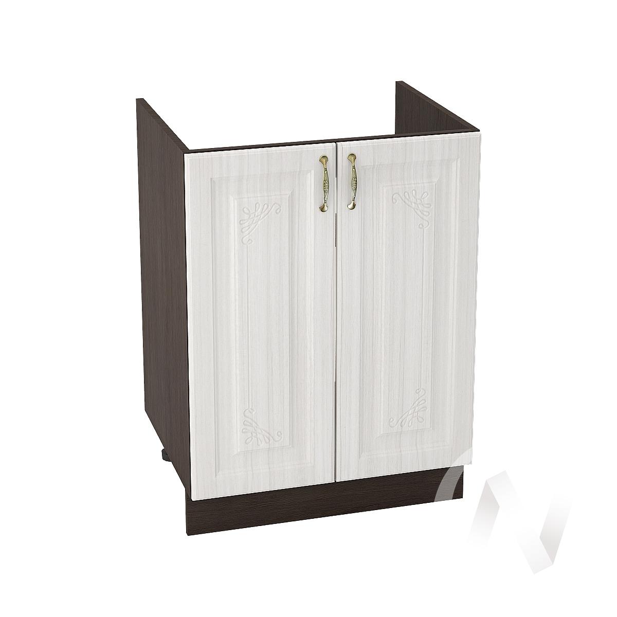 """Кухня """"Виктория"""": Шкаф нижний под мойку 600, ШНМ 600 (корпус венге)"""
