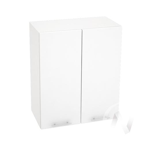 "Кухня ""Валерия-М"": Шкаф верхний 600, ШВ 600 (белый металлик/корпус белый)"